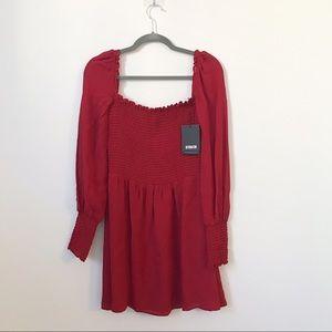 Reformation Dresses - [Reformation] Kelli Red Lipstick Dress